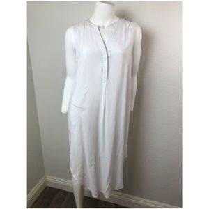CABLE & GAUGE Large Dress White Knee Length